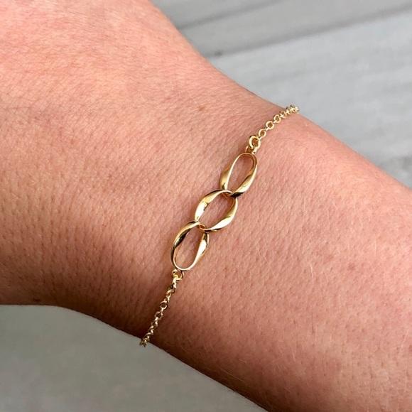 Jewelry - Dainty 18K Gold Minimalist Chain Bracelet
